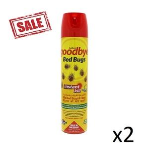 Goodbye Bed Bugs Spray 2x4g