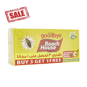 Goodbye Roach House 4pc