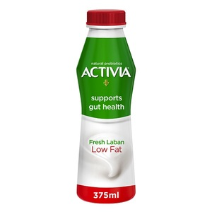 Activia Laban Low Fat Milk 375ml