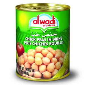 Al Wadi Al Akhdar Chick Peas 400g