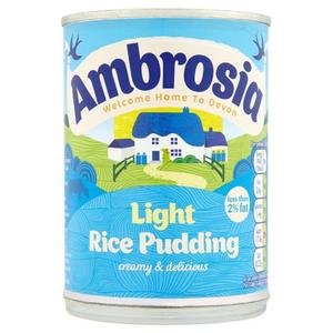 Ambrosia Rice Pudding Light 400g