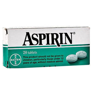 Aspirin 20tabs