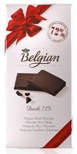 Belgian Chocolate 72% Dark Chocolate 100g