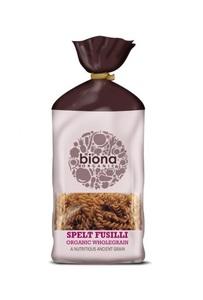 Biona Organic Spelt Fusilli Wholegrain Pasta 500g