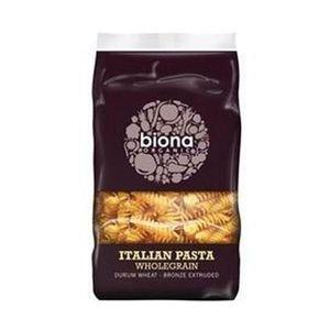 Biona Organic Italian Fusilli Pasta Wholegrain 500g