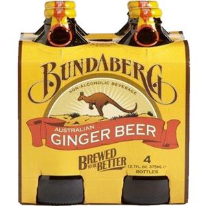 Bundaberg Ginger Beer 4X375ml