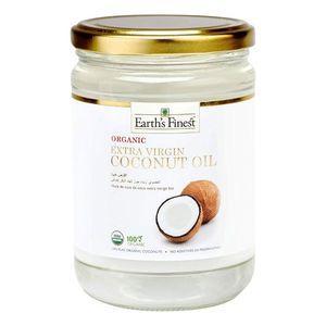 Earth's Finest Organic Extra Virgin Coconut Oil 500ml