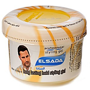 Elsada Hair Gel Tub Yellow 250ml