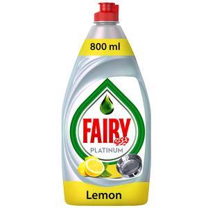 Fairy Platinum Lemon Dish Washing Liquid Soap 800ml