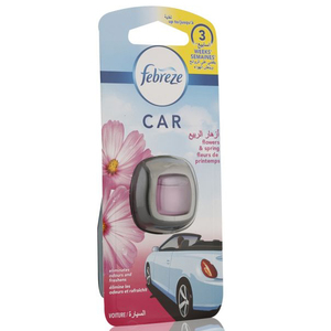 Febreze Car Air Flowers And Spring Air Freshener 6pc