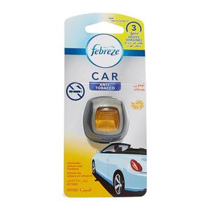 Febreze Car Vent Clip Anti Tobacco Air Freshener 6pc