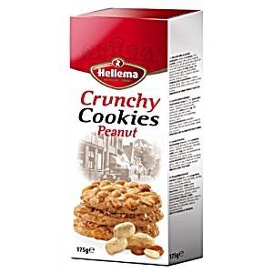 Hellema Cookies Crunchy Peanut 175g