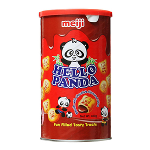 Meiji Hello Panda Can Chocolate 12x400g