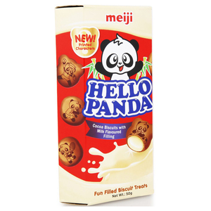 Meiji Hello Panda Chocolate And Milk 50g