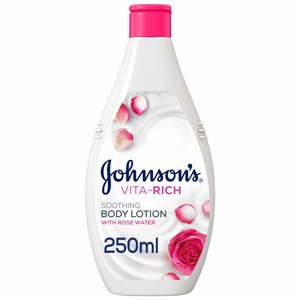 Johnson's Vita-Rich Rose Water Soothing Body Lotion 250ml