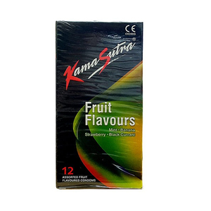 Kama Sutra Fruit Flavours Condom 12pc