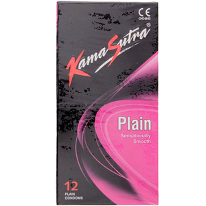 Kama Sutra Condom Plain 12pc