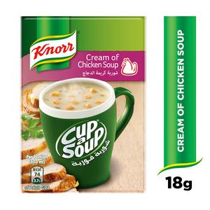 Knorr CupASoup Cream Of Chicken 72g