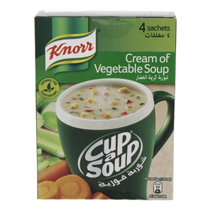 Knorr Cup A Soup Cream Of Vegetable Soup 72g