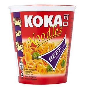 Koka Instant Noodles Bowl Beef Flavour 90g