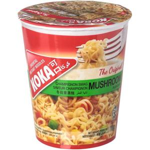 Koka Instant Noodles Bowl Mushroom Flavour 90g