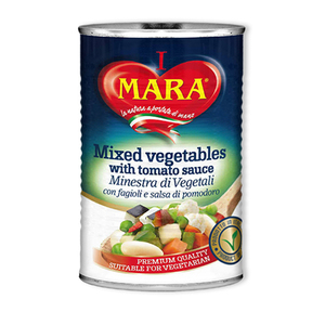 Mara Mixed Vegetables With Tomato Sauce 400g