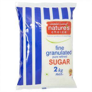 Nature's Choice Fine Granulated Sugar 2kg