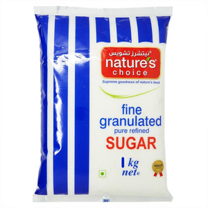 Nature's Choice Fine Granulated Sugar 1kg