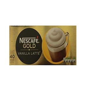 Nescafe Gold Vanilla Latte Instant Coffee Sachet 18.5g