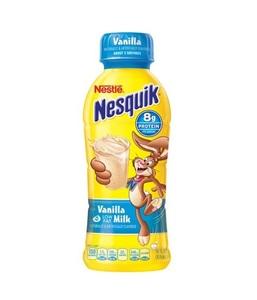 Nesquik Vanilla Low Fat Milk 14oz