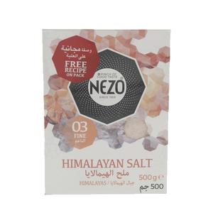 Nezo Himalayan Salt 500g