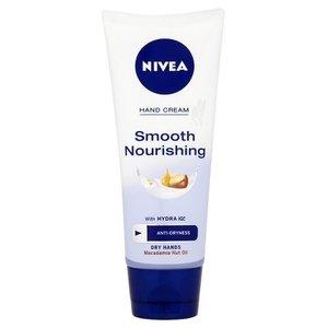Nivea Smooth Hands & Nail Care Cream Macadania Oil & Lotus Flower 100ml