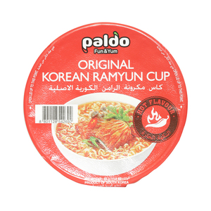 Paldo Noodle Pkt Ramyun Hot And Spicy 65g