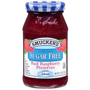 Smucker's Sugar Free Red Raspberry Preserves 12.75oz