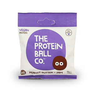 The Protein Ball Co. Peanut Butter + Jam Protein Balls 45g