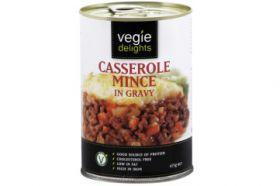 Vegie Delights Casserole Mince In Gravy 415g