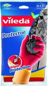 Vileda Gloves Toughies Med 1pc