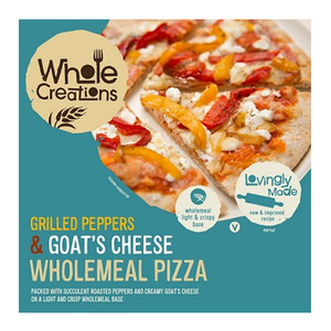 Whole Creations Pizza Goat Cheese And Pepper 320g