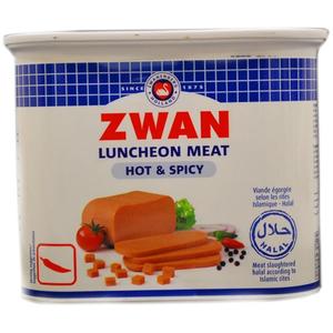 Zwan Luncheon Meat Beef Hot & Spicy 340g