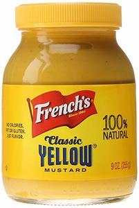 French's Mustard Yellow Jar 9oz