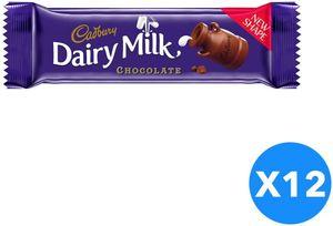 Cadbury Dairy Milk  Plain 12x37g