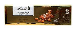 Lindt Swiss Premium Chocolate With Almonds 300g