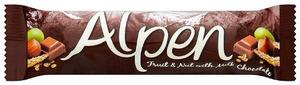 Alpen Fruit & Nut With Milk Chocolate 1pc