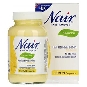 Nair Hair Remover Jar Lemon 120ml