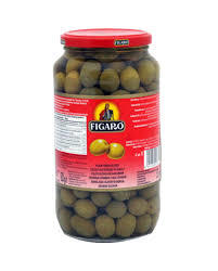 Figaro Olives Green Plain 575g
