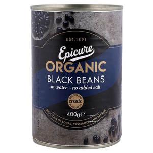 Epicure Beans Black 400g