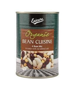 Epicure Organic Cuisine Beans 400g