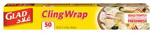 Glad Cling Wrap 50 Sqft 12pc