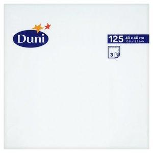 Duni Nap White 125pc