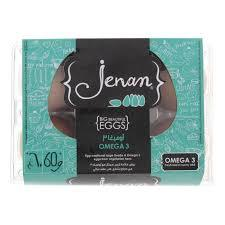 Jenan Eggs Box Omega Brown 6pc